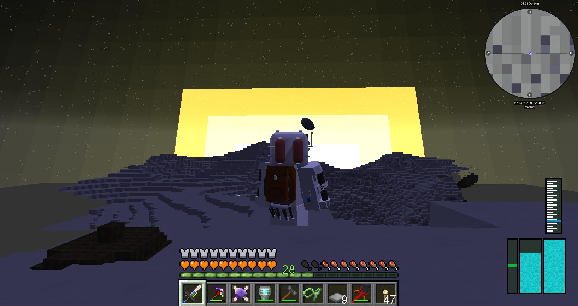 水星で日の出を見よう